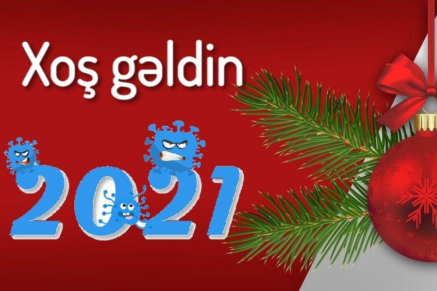 Yeni Ilə Aid Səkillər 2021 Ilk Az
