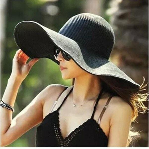 geniş kenarlı şapkalar